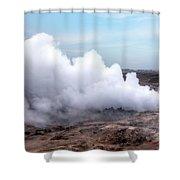 Gunnuhver - Iceland Shower Curtain