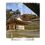 Haeinsa Buddhist Temple Shower Curtain