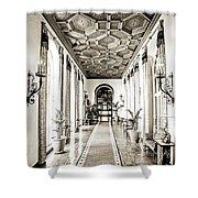 Hallway Of Elegance Shower Curtain