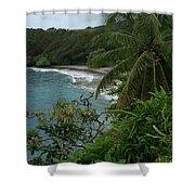 Hamoa Beach Maui Hawaii Shower Curtain