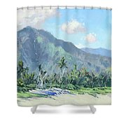 Hanalei Cats Shower Curtain