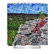 Hanging Rock State Park Shower Curtain