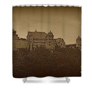 Harburg Castle - Digital Shower Curtain