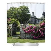 Harkness Memorial Park Flowers Shower Curtain