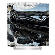 Harley Davidson 16 Shower Curtain