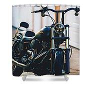 Harley-davidson Shower Curtain