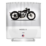 Harley Davidson Model S Shower Curtain