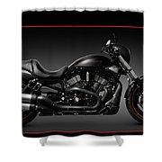 Harley Davidson Vrscd Night Rod Special Shower Curtain