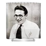 Harold Lloyd, Legend Of The Silver Screen Shower Curtain