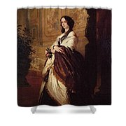 Harriet Howard Duchess Of Sutherland Franz Xavier Winterhalter Shower Curtain