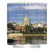 Harrisburg Skyline Shower Curtain