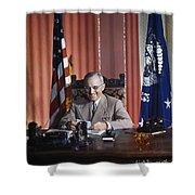 Harry S. Truman Shower Curtain