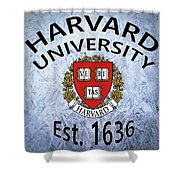 Harvard University Est. 1636 Shower Curtain
