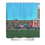 Harvest In Amish Country - Elkhart County, Indiana Shower Curtain