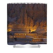 Hatshepsuts Mortuary Temple Rises Shower Curtain