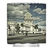 Havana National Capitol Shower Curtain