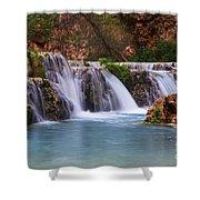 Havasu Creek Grand Canyon 2 Shower Curtain