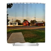 Heartland Heritage Museum.2 Shower Curtain