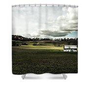 Heaven - West Virginia Shower Curtain