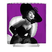 Hedy Lamarr C.1947-2013 Shower Curtain