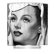 Hedy Lamarr Shower Curtain