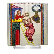 Heidelberg Lieder, C.14th Shower Curtain