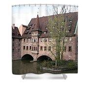 Heilig Geist Spital - Nuremberg Shower Curtain