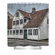 Helsingor Old Building Shower Curtain