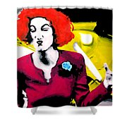 Her Name Is Lil . . Shower Curtain by Luis Ludzska