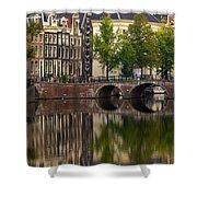 Herengracht Canal. Amsterdam. Netherlands. Europe Shower Curtain