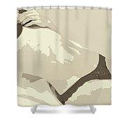 Hidden Erotic Desire Shower Curtain