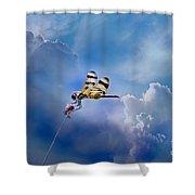 High Flyer Shower Curtain