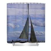 High Profile Shower Curtain