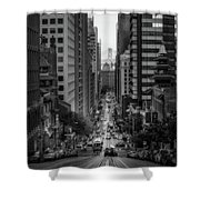 Hills Of San Francisco Shower Curtain