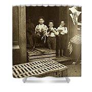 Hine: Child Labor, 1908 Shower Curtain