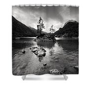 Hintersee Shower Curtain