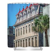 Historic Charleston South Carolina Downtown And Architetural Det Shower Curtain