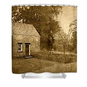 Historic Home - Allaire State Park Shower Curtain