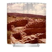 Historic Indian Ruins  Shower Curtain