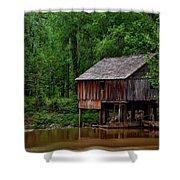 Historic Rikard's Mill - Alabama Shower Curtain