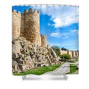 Historic Walls Of Avila Shower Curtain