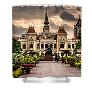 Ho Chi Minh City Hall Shower Curtain