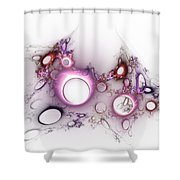 Hole To Hole Shower Curtain