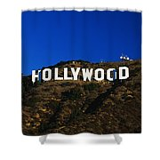 Hollywood Sign Los Angeles Ca Shower Curtain