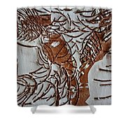 Home - Tile Shower Curtain