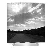 Homestead Sky Shower Curtain