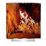 Hometown Series - Luray Caverns Shower Curtain