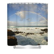 Hookipa Beach Shower Curtain