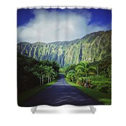 Ho'omaluhia Botanical Garden Shower Curtain