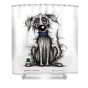 Horrible The Dog Shower Curtain